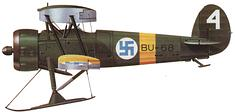 World War 2 Equipment - Finnish Bristol Bulldog Mk.IVa