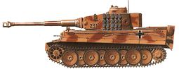 World War 2 Equipment - German Tiger I
