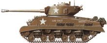 World War 2 Equipment - American M4A3E8 Sherman
