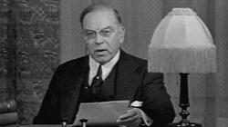 Prime Minister William Lyon Mackenzie King announces Canada's declaration of war on Germany.