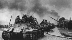 T-34 tanks enter Berlin's suburbs after fighting their way through the capital's outer defenses.