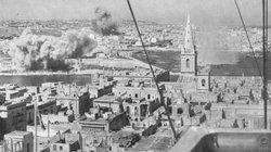 The Luftwaffe pounds Malta in an attempt to force the Island's surrender.