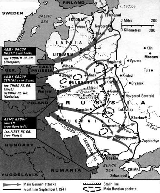 World war 2 maps worldwar 2 map operation barbarossa june 22nd 1941 german armed forces achieved strategic surprise and gumiabroncs Image collections